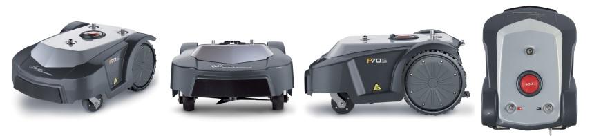 P70S žolės robotai